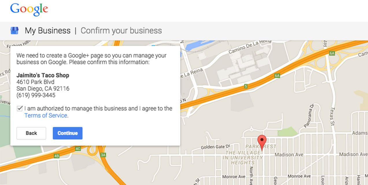 How to Add Your Business to Google maps step 4