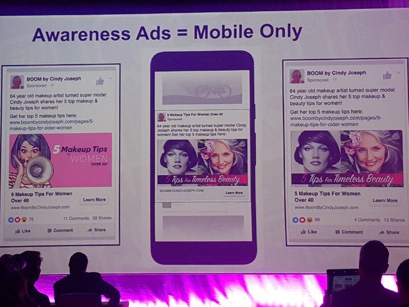 Ezra Firestone awareness ads mobile only
