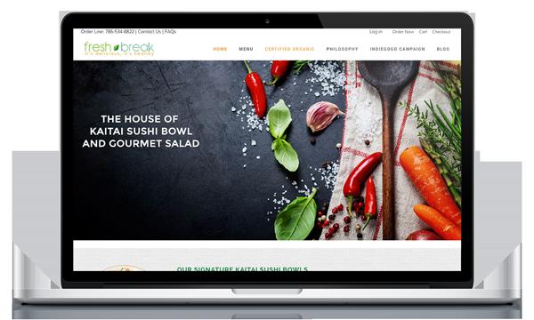 FreshBreak Public Website