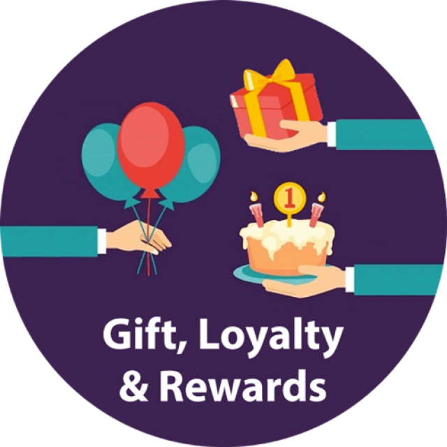 Gift, Loyalty & Reward Systems