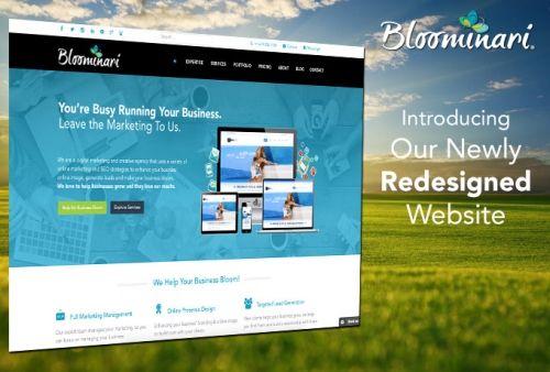 New Website: We Practice What We Preach!