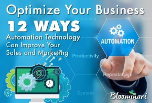 Optimize Your Business: 12 Ways Automation Technology Can Improve Your Sales & Marketing