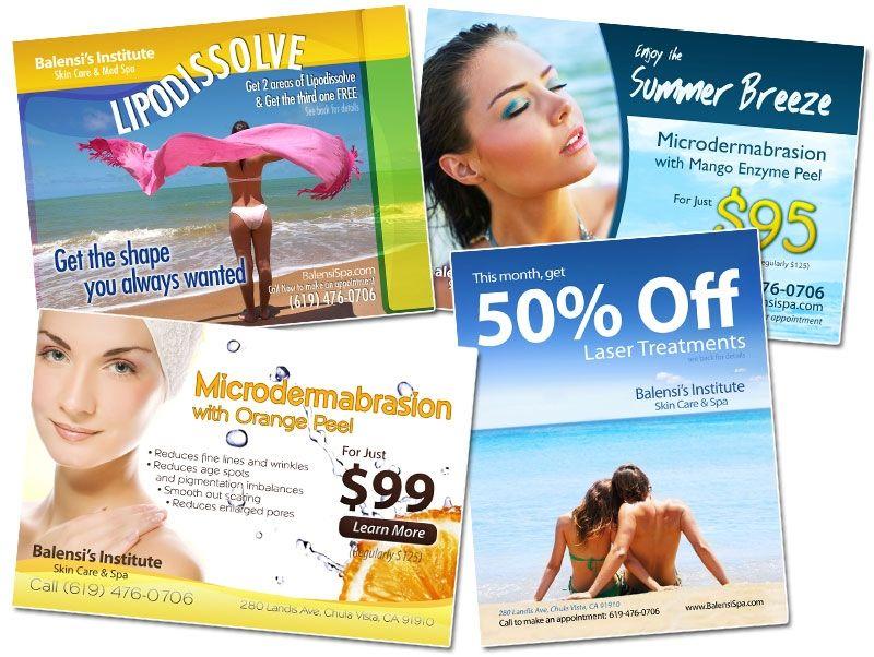 Balensi Spa Postcards - Set 1