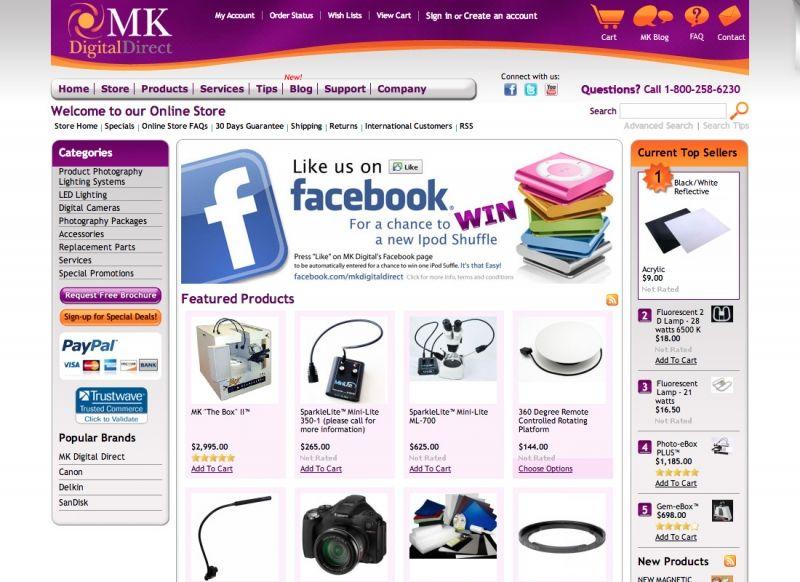 MK Digital E-Commerce Online Store