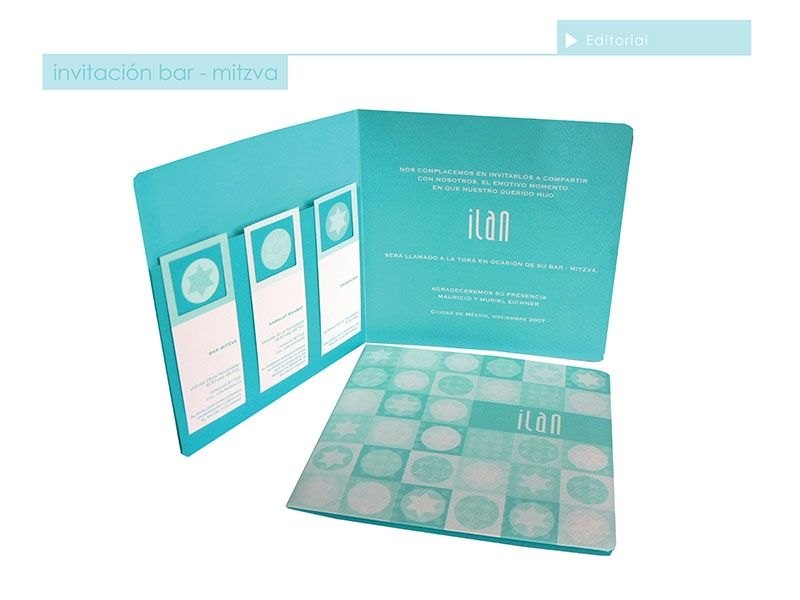 Ilan Bar Mitzvah Invitation