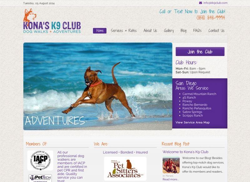 Kona's K9 Club- San Diego