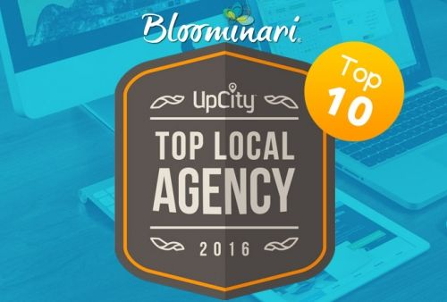 Top Web Designers in San Diego Award, Bloominari