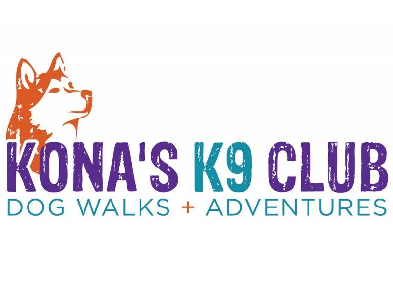 Kona's K9 Club Logo