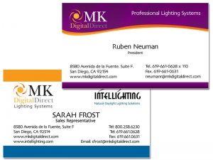 MK Digital Business Cards