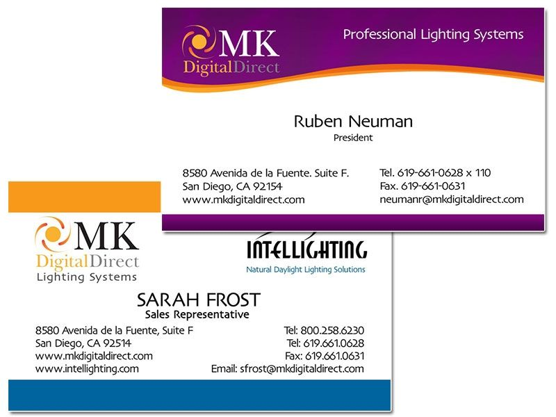 MK Digital Business Cards