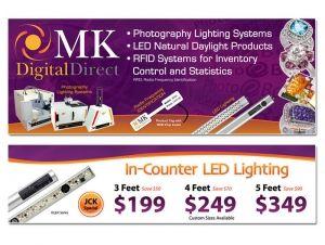 MK Digital Tradeshow Banners