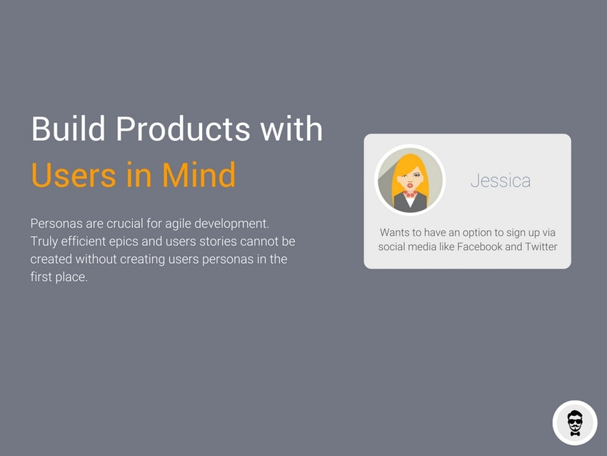 Build products with users in mind