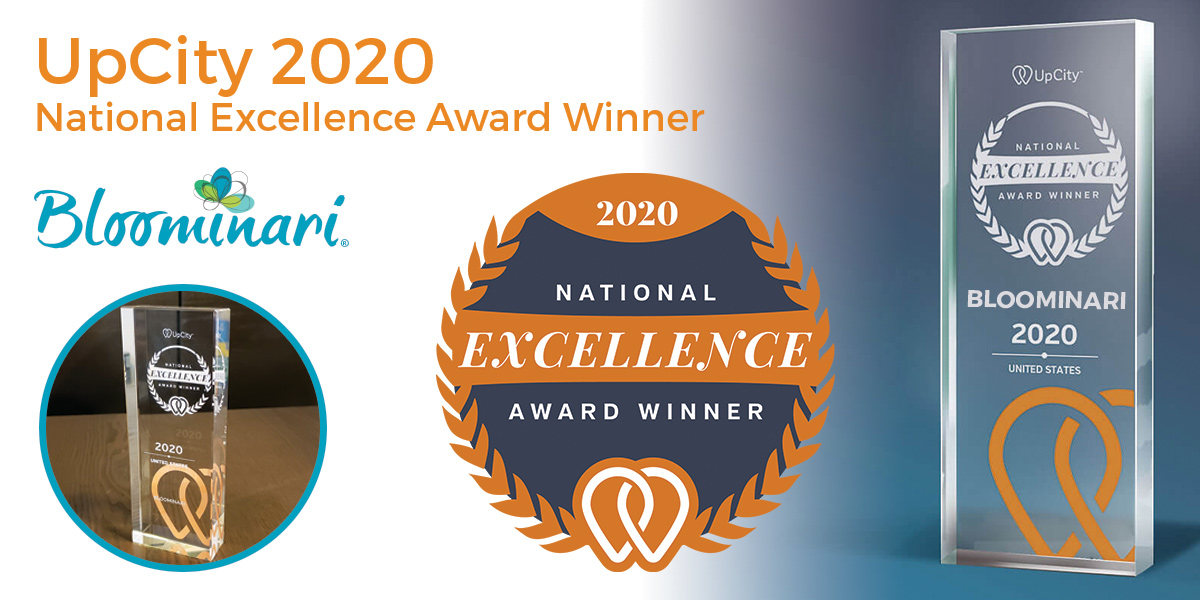 Bloominari - San Diego Marketing Agency 2020 National Excellence Award Winner